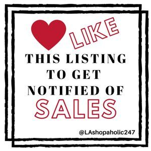❤️ Like This Listing To Get Notified of Sales!
